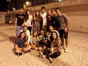 Summer Missions Team with Portugal students