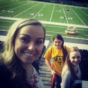 Prayer Walk in Cincinnati stadium