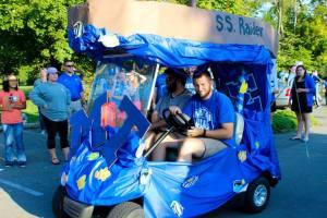 MTSU BCM golf cart