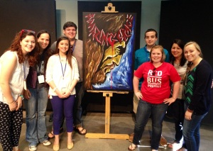 APSU students at Pursuit Conference