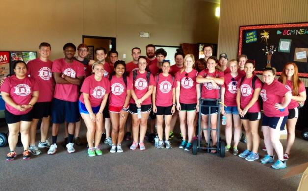 APSU BCM Move in Team